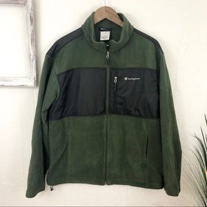 Champion Men's Hunter Green Full Zip Jacket
